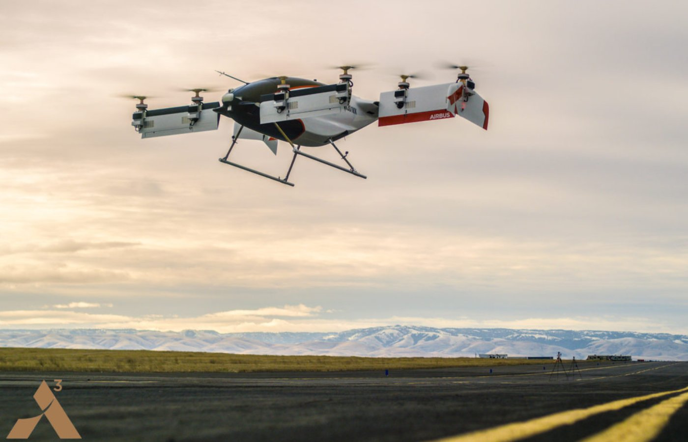 Vahana, the all electric, self-piloted, VTOL aircraft from A³ by Airbus