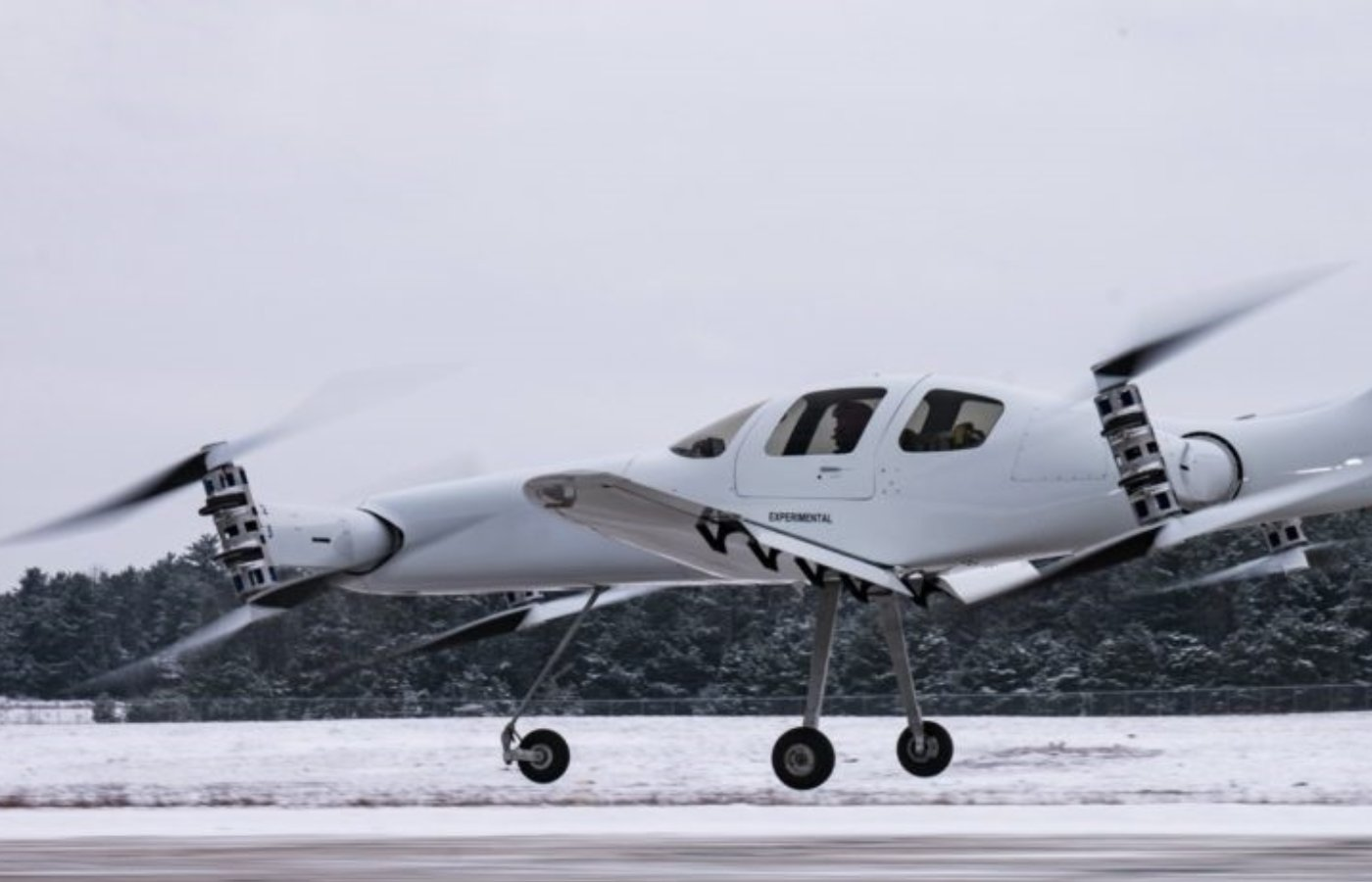 Behind the controls of an eVTOL aircraft: A test pilot's