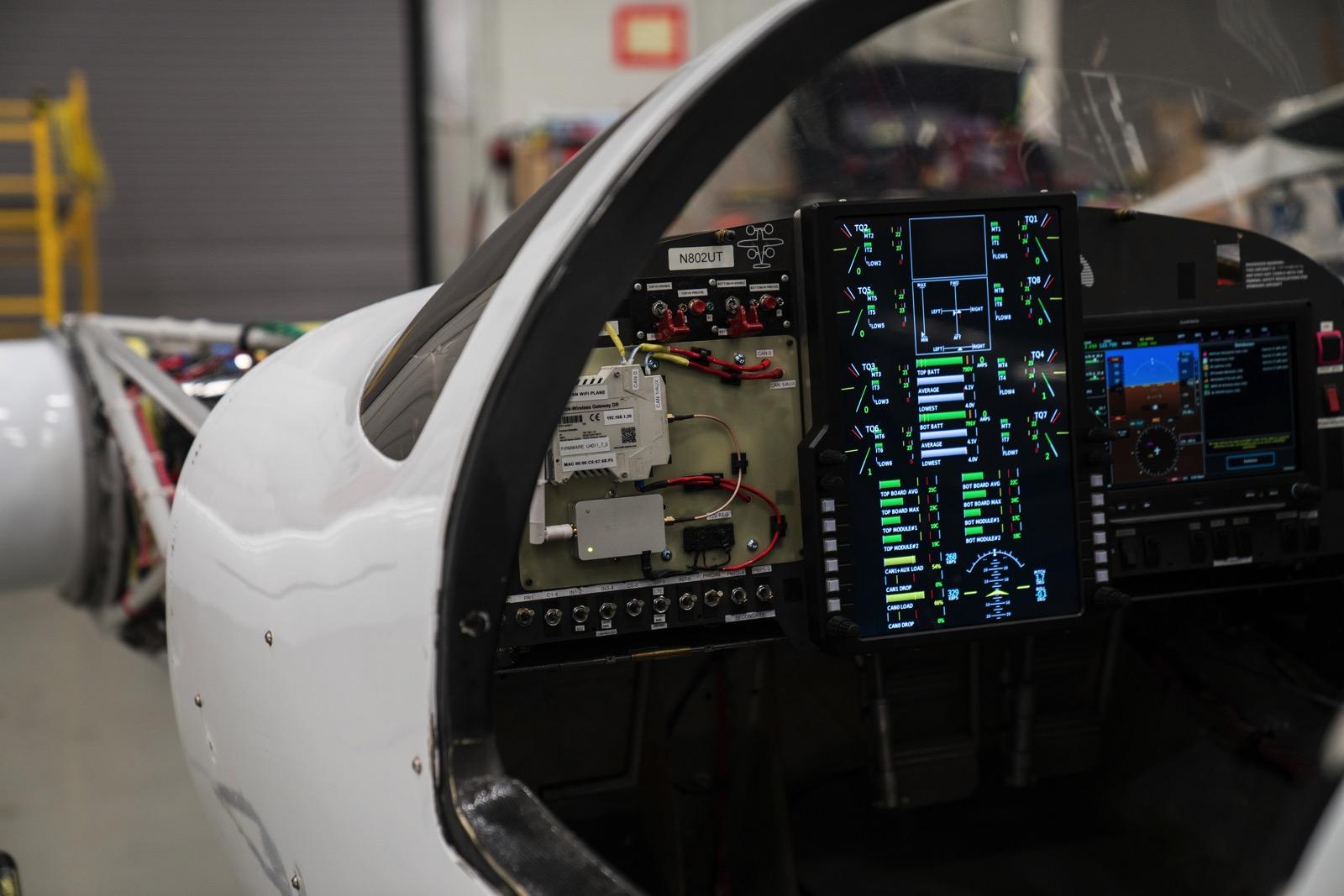 Cockpit of Beta's Ava XC