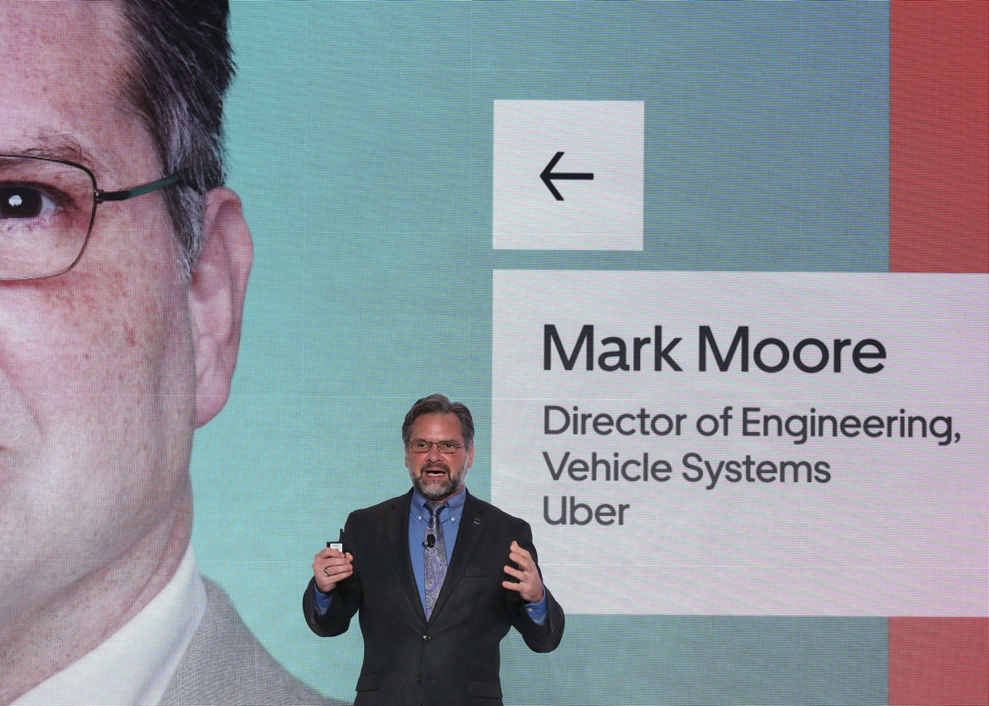 Mark Moore at Uber Elevate Summit