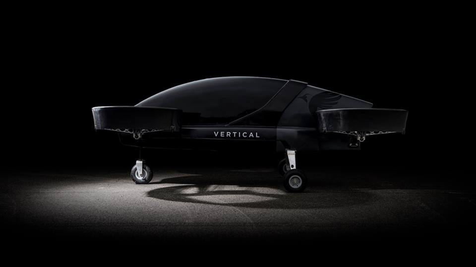 Vertical Aerospace eVTOL prototype