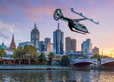 Uber eVTOL in Melbourne