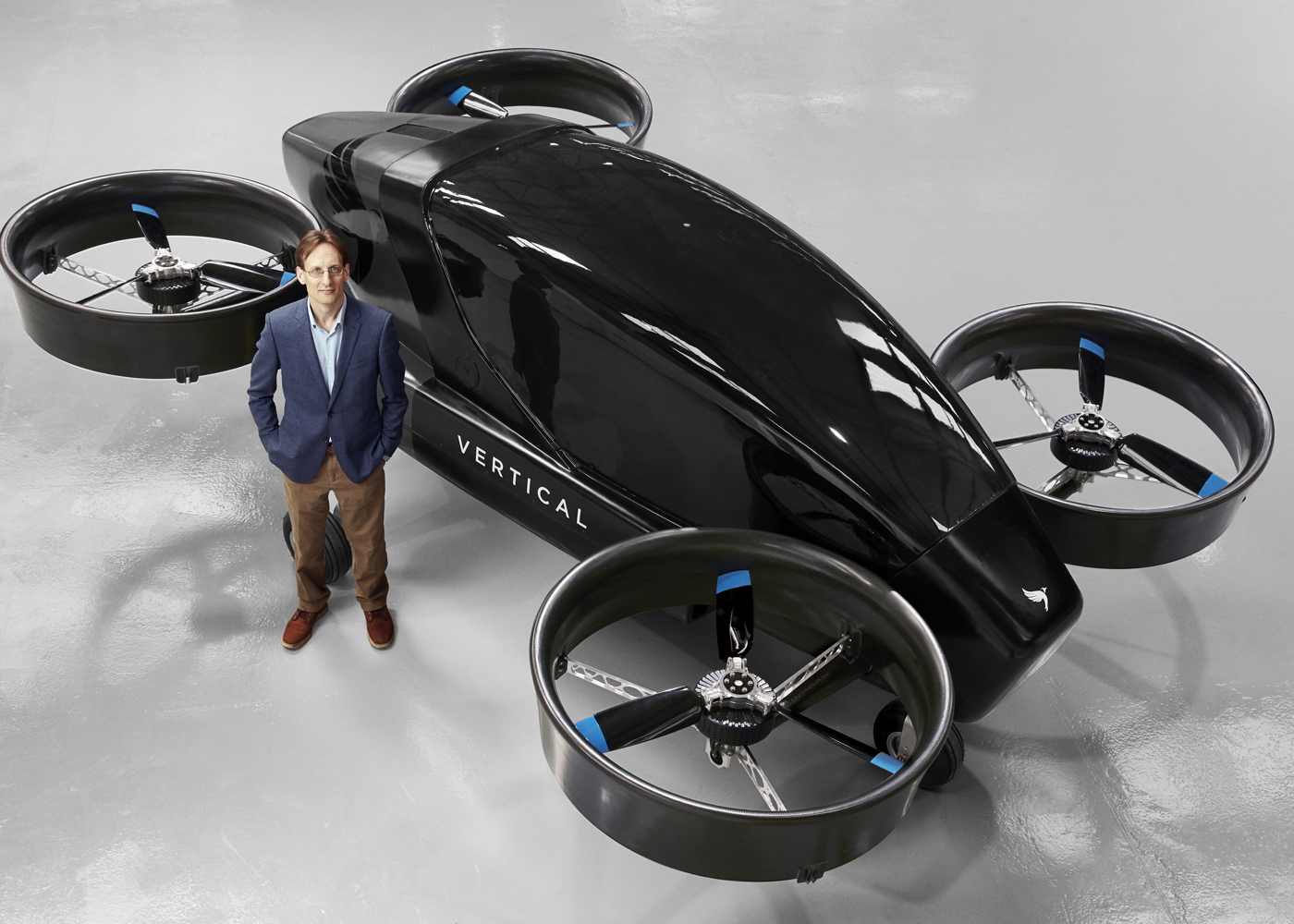 Michael Cervenka with Vertical Aerospace eVTOL