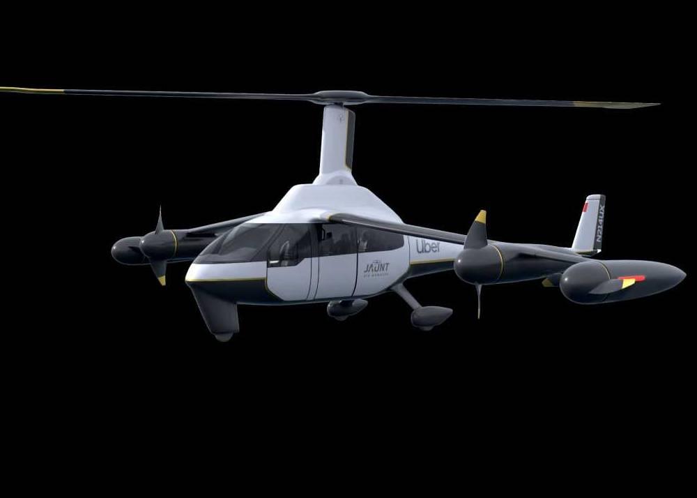 Jaunt Air Mobility ROSA Journey eVTOL