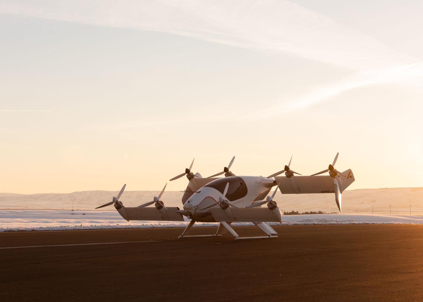 Airbus Vahana eVTOL