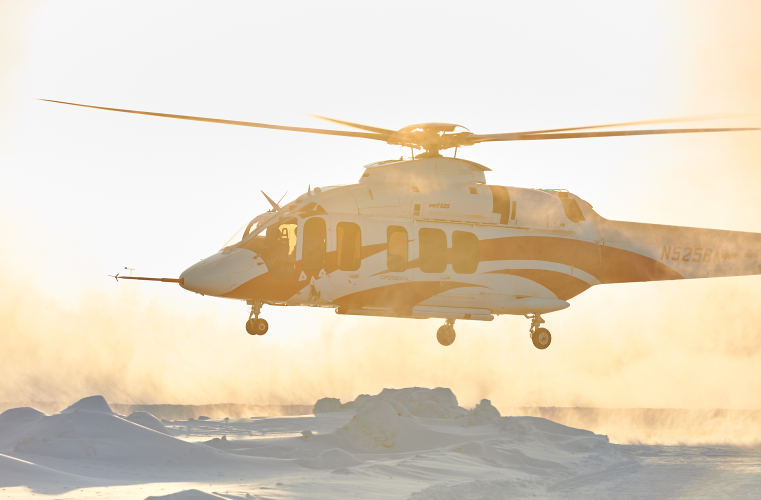 Bell 525 in Yellowknife