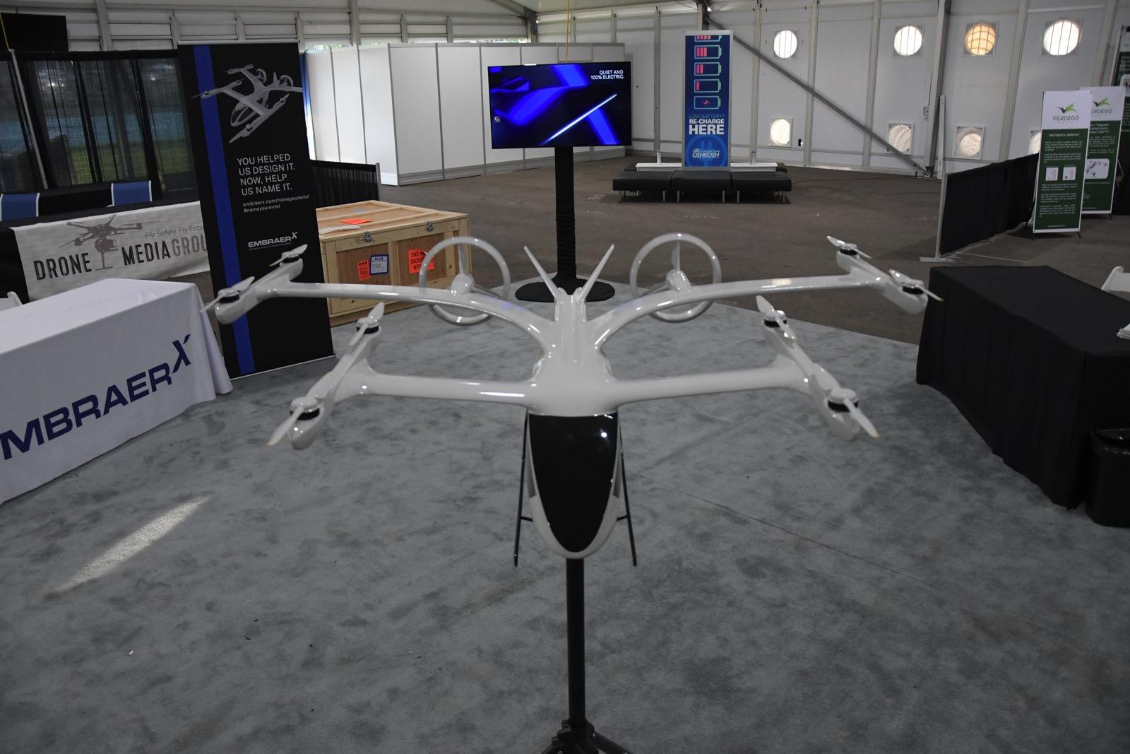 Embraer X eVTOL model