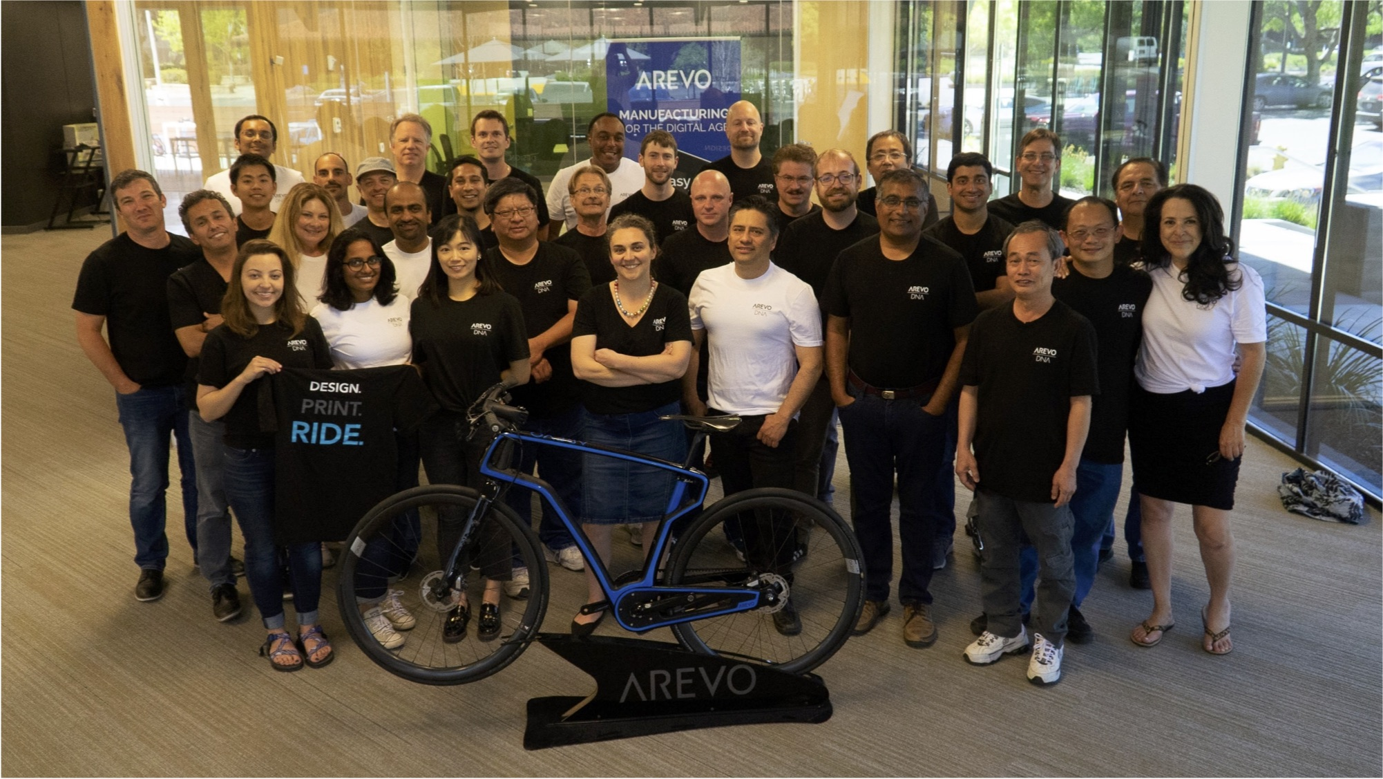 Arevo scientists and engineers