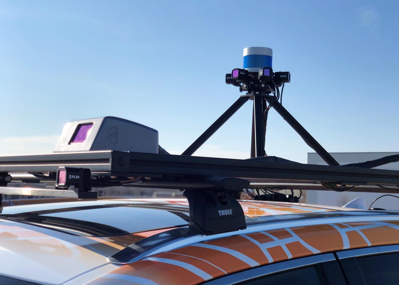 FLIR autonomous car with Boson sensors