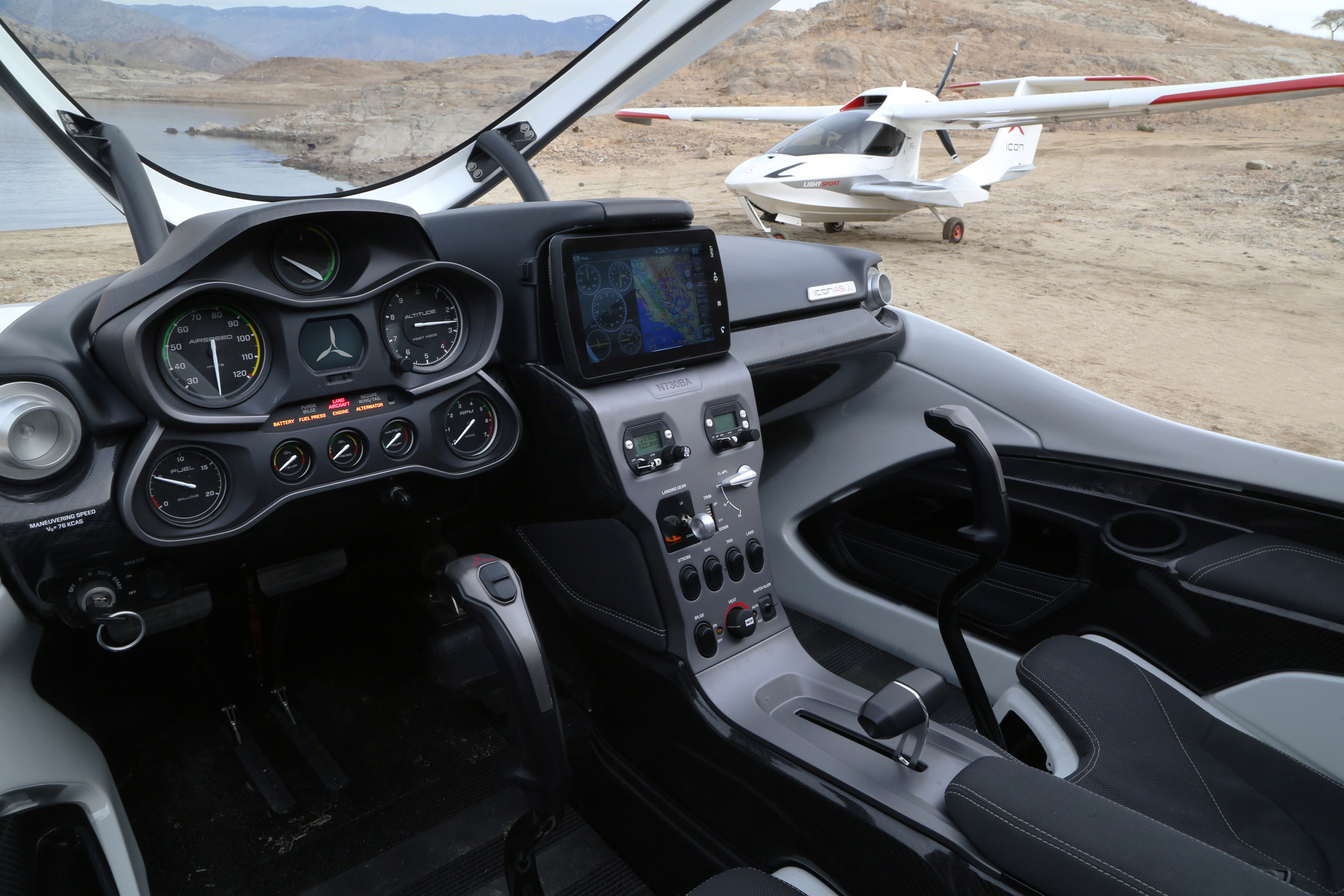 Icon A5 light-sport airplane