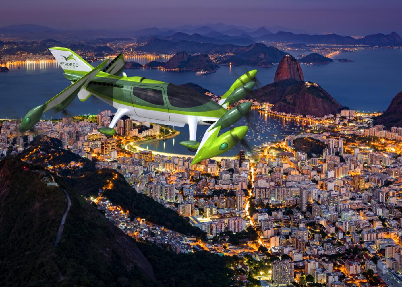 VerdeGo Aero hybrid VTOL aircraft