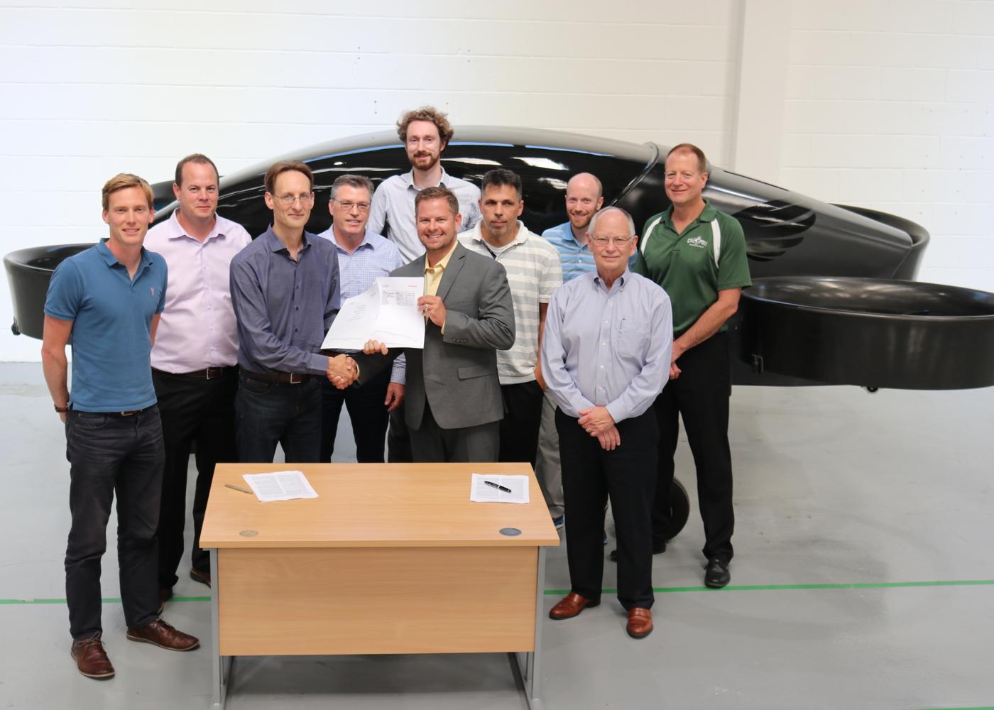 Honeywell and Vertical Aerospace sign partnership agreement