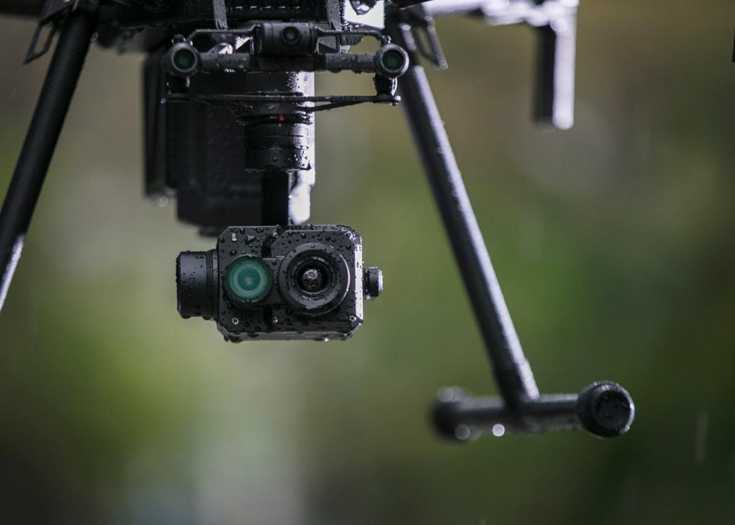 FLIR Tau 2 camera on DJI Zenmuse XT2