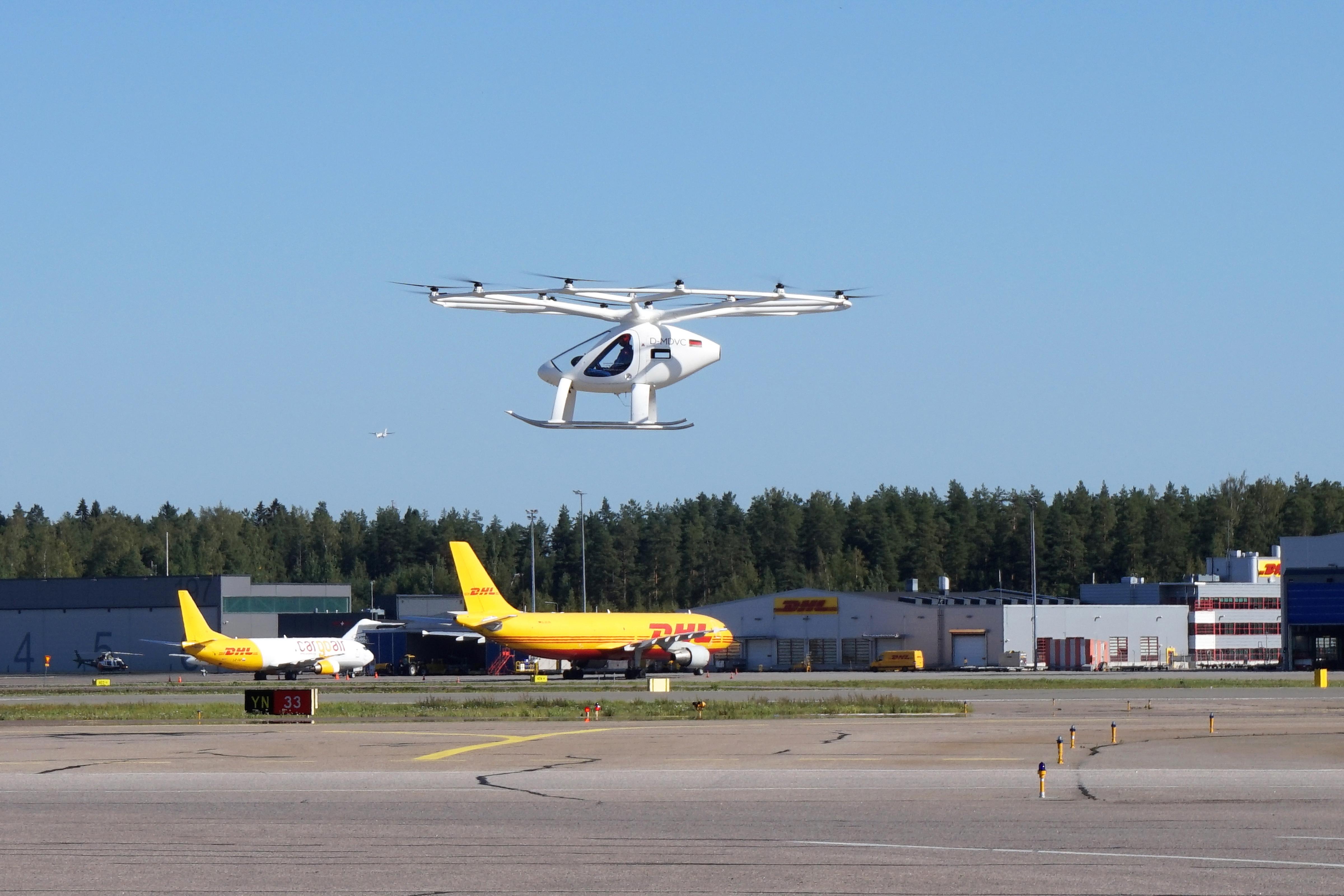 Volocopter eVTOL Helsinki