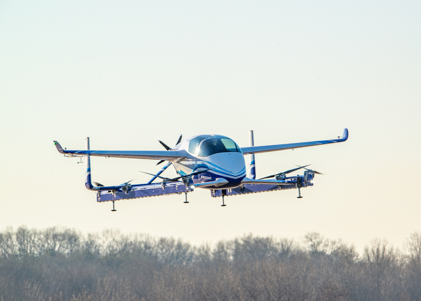 Aurora Flight Sciences / Boeing PAV eVTOL