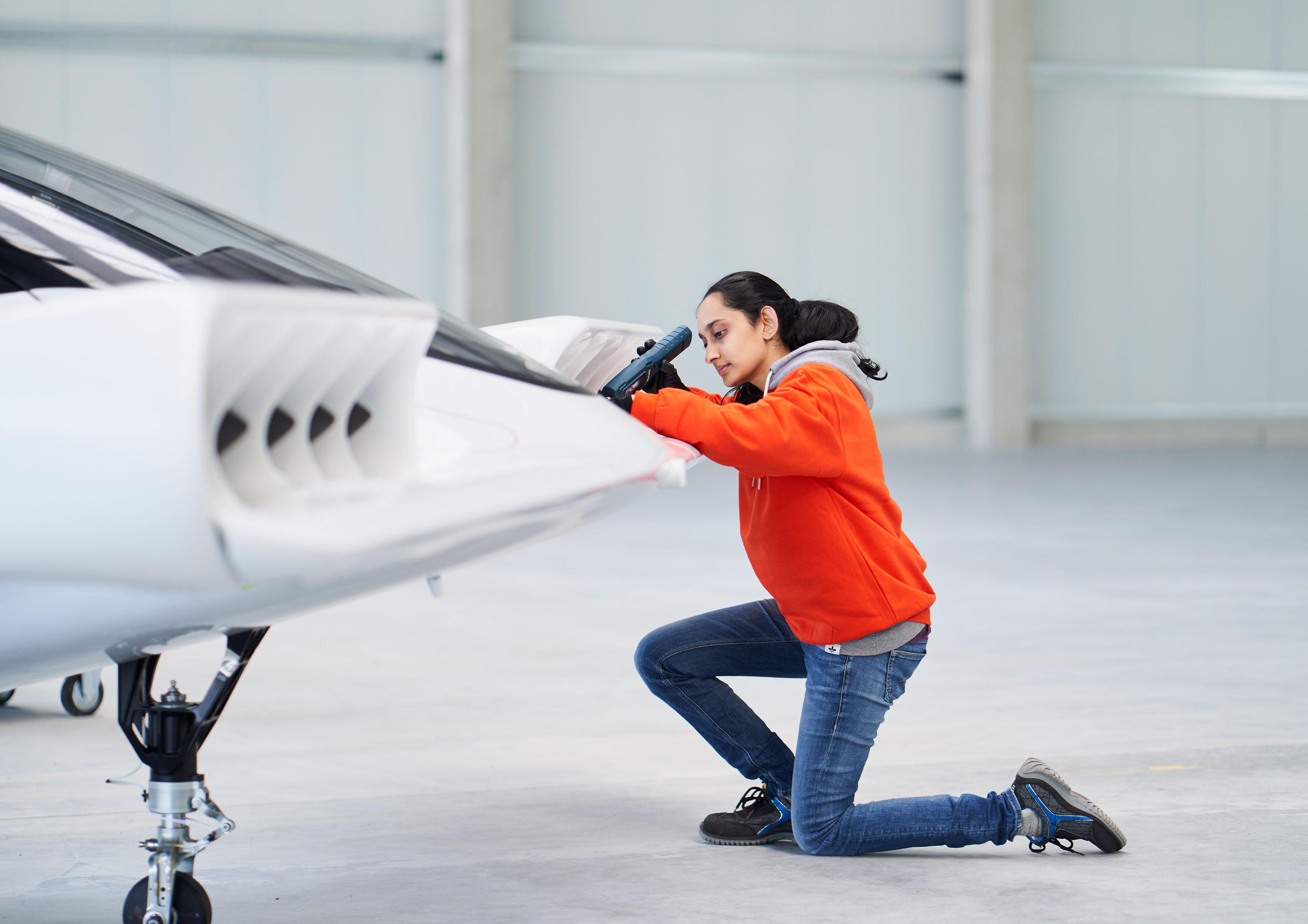 Lilium Jet flight test prep