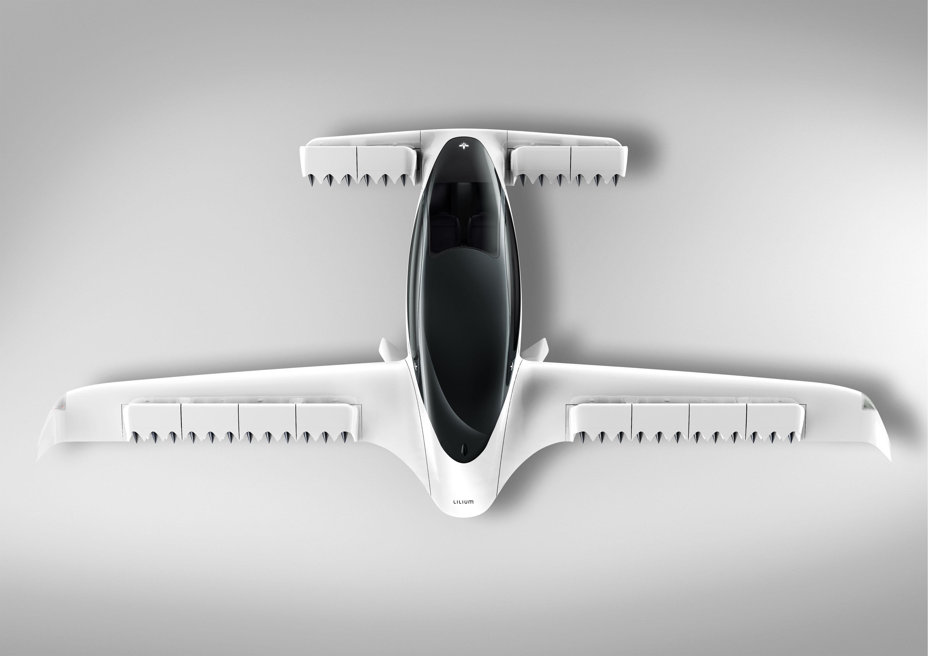 Lilium Jet overhead view