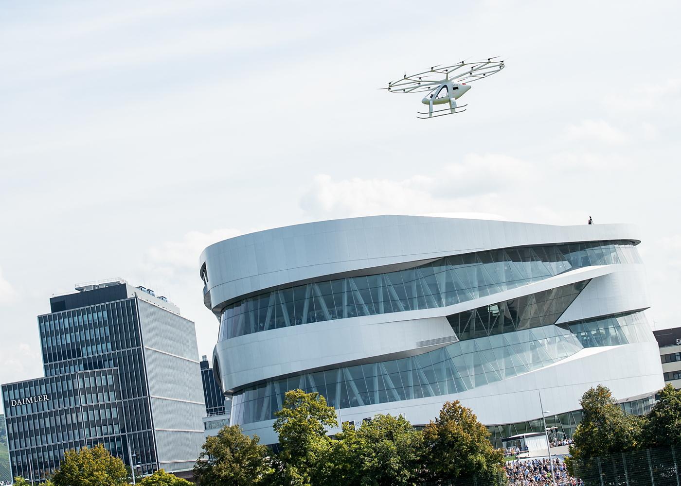 Volocopter demo Stuttgart