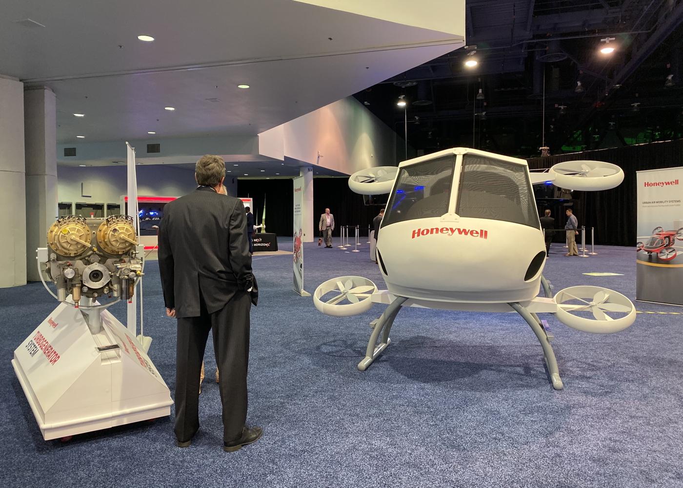 Honeywell UAM display