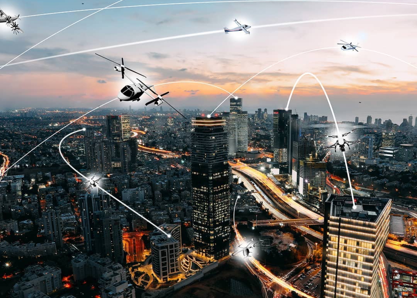 Urban air mobility telemetry needs