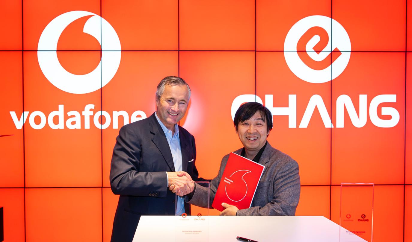 EHang Vodafone agreement