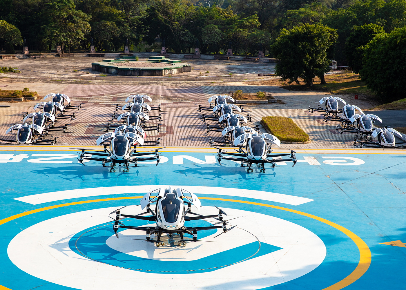 EHang eVTOL deliveries