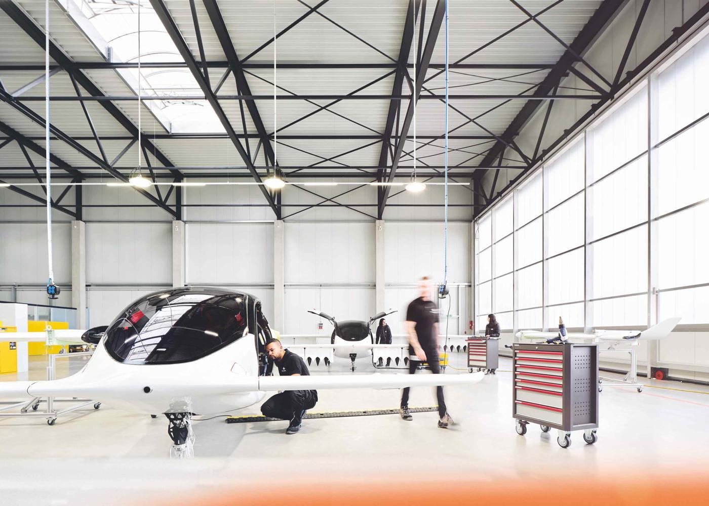 Lilium Jet prototypes