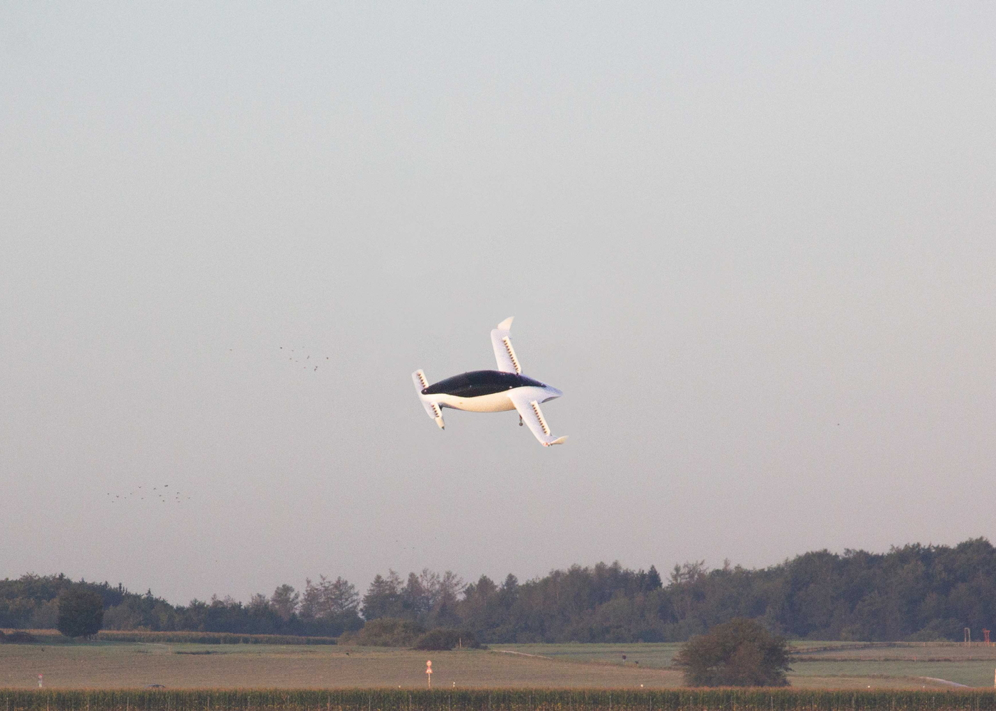 Lilium Jet flight test