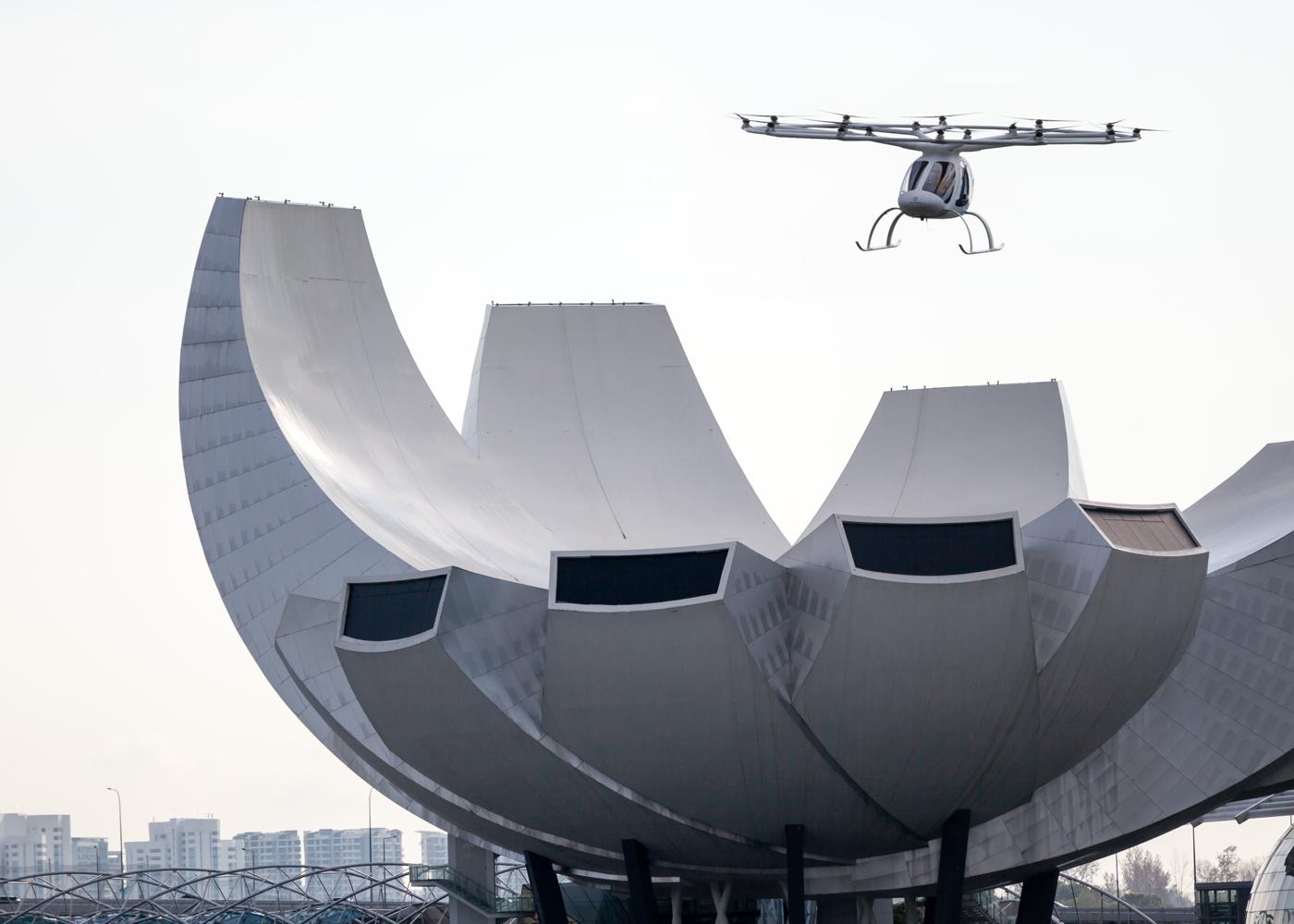 Volocopter 2X Singapore