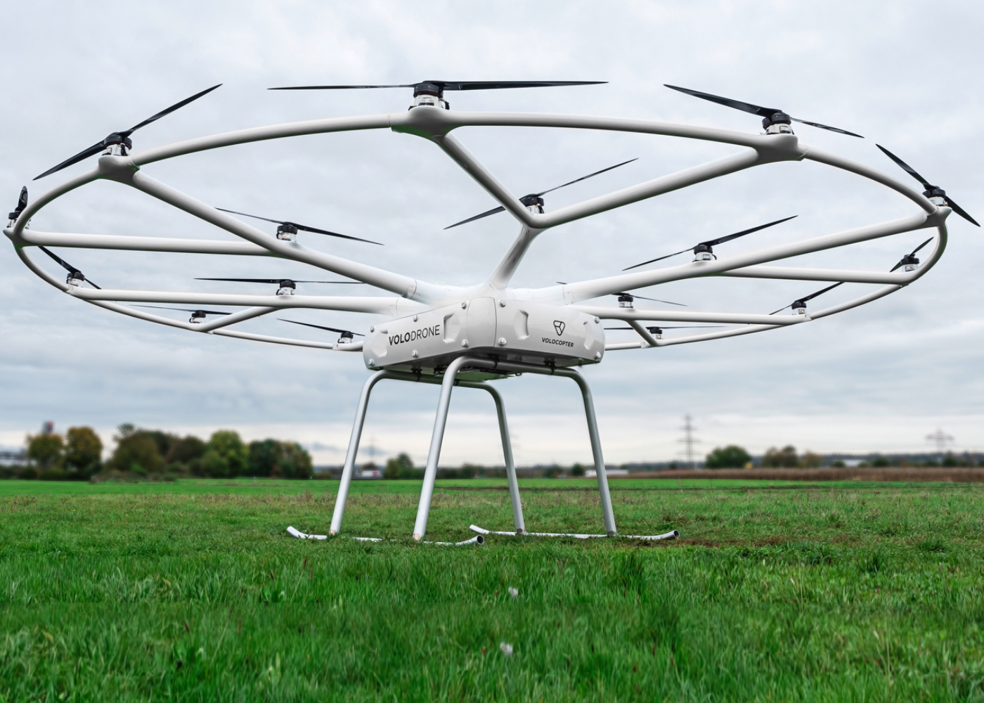 Volocopter utility VoloDrone eVTOL
