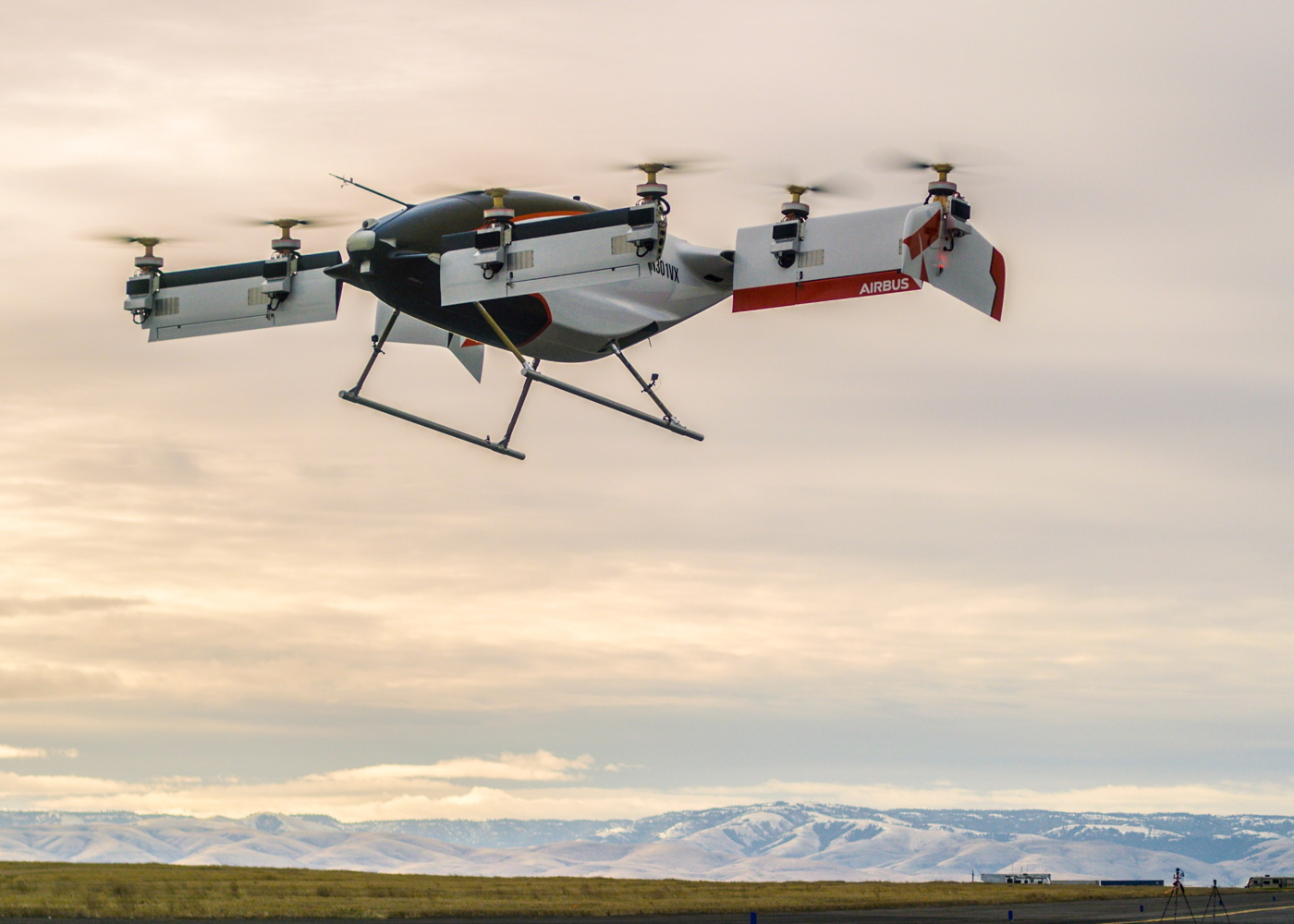 Airbus Vahana eVTOL first flight