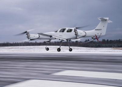 Beta Ava XC eVTOL in flight