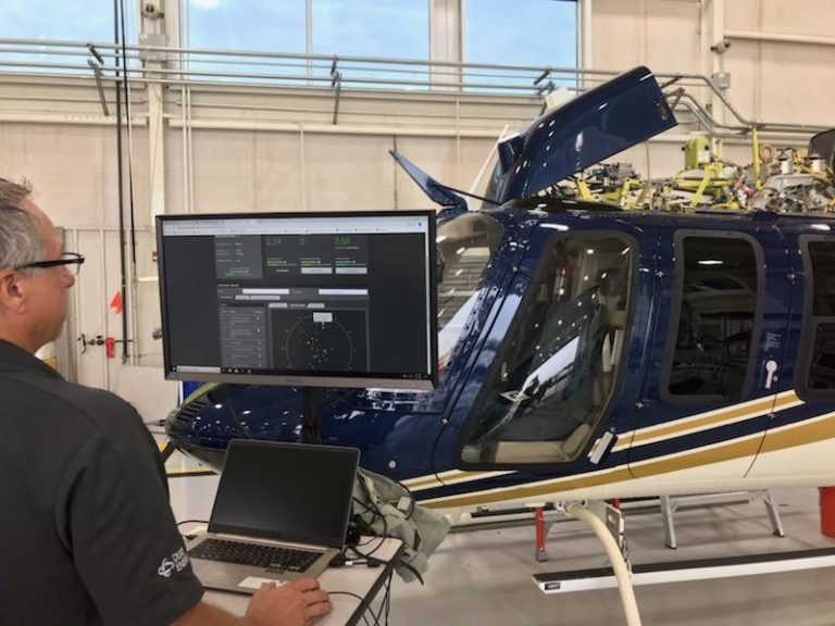 Duke Energy Bell 407 using GPMS Foresight