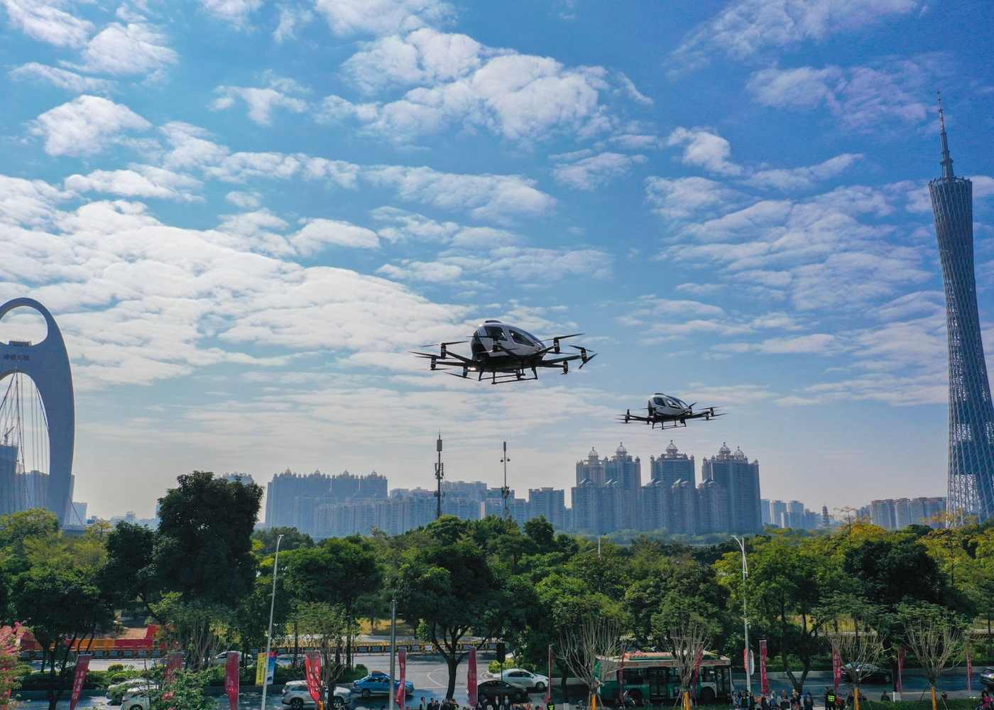 EHang 216 eVTOL Guangzhou