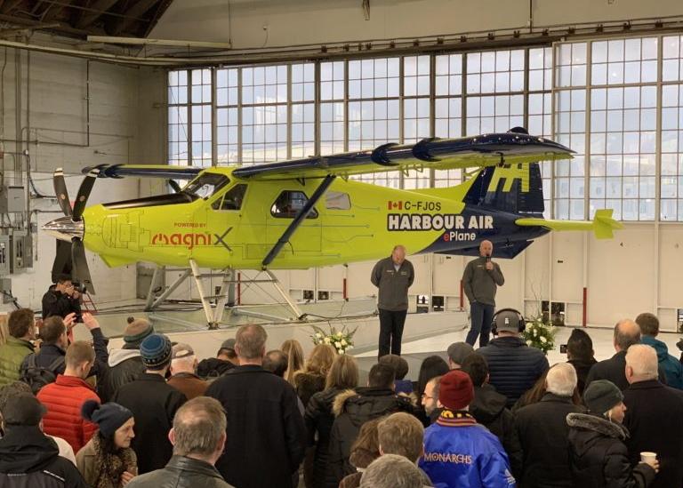 eBeaver in hangar
