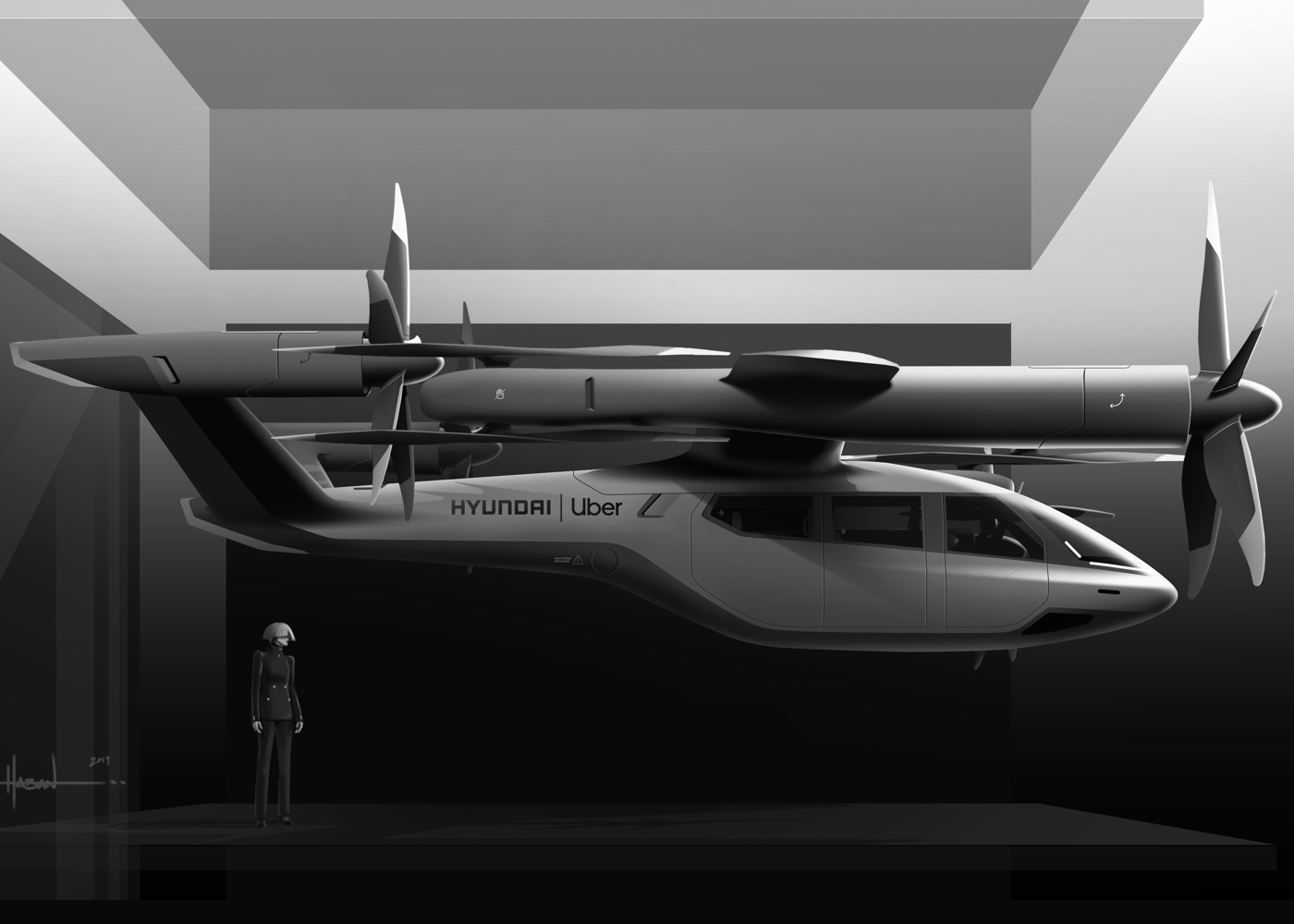 Hyundai S-A1 eVTOL air taxi