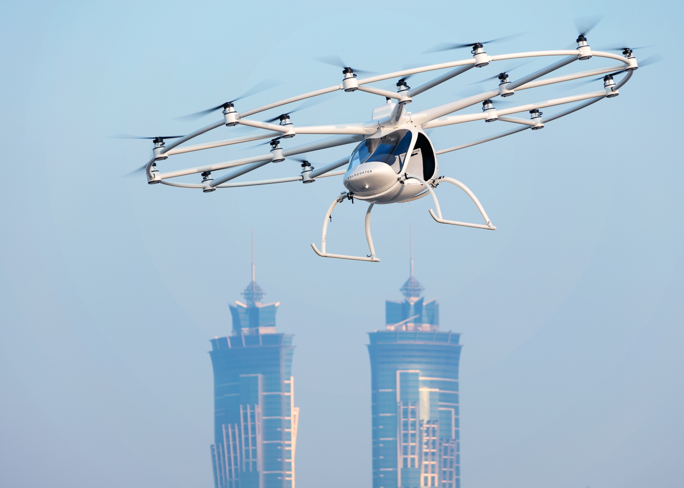 Volocopter eVTOL Dubai performance