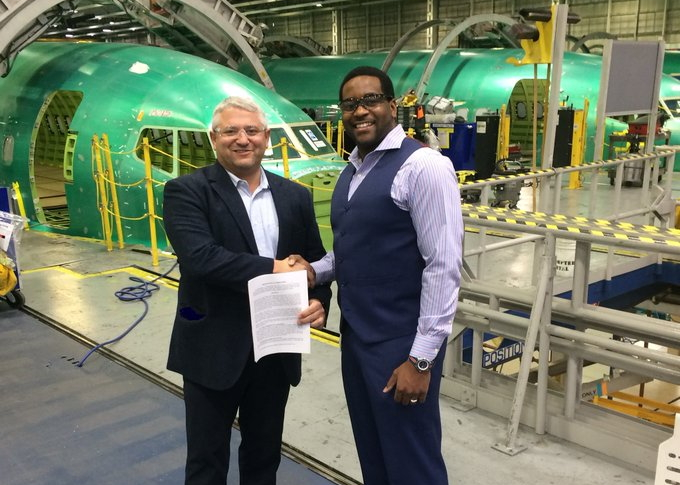 ASX and Spirit AeroSystems MOU signing