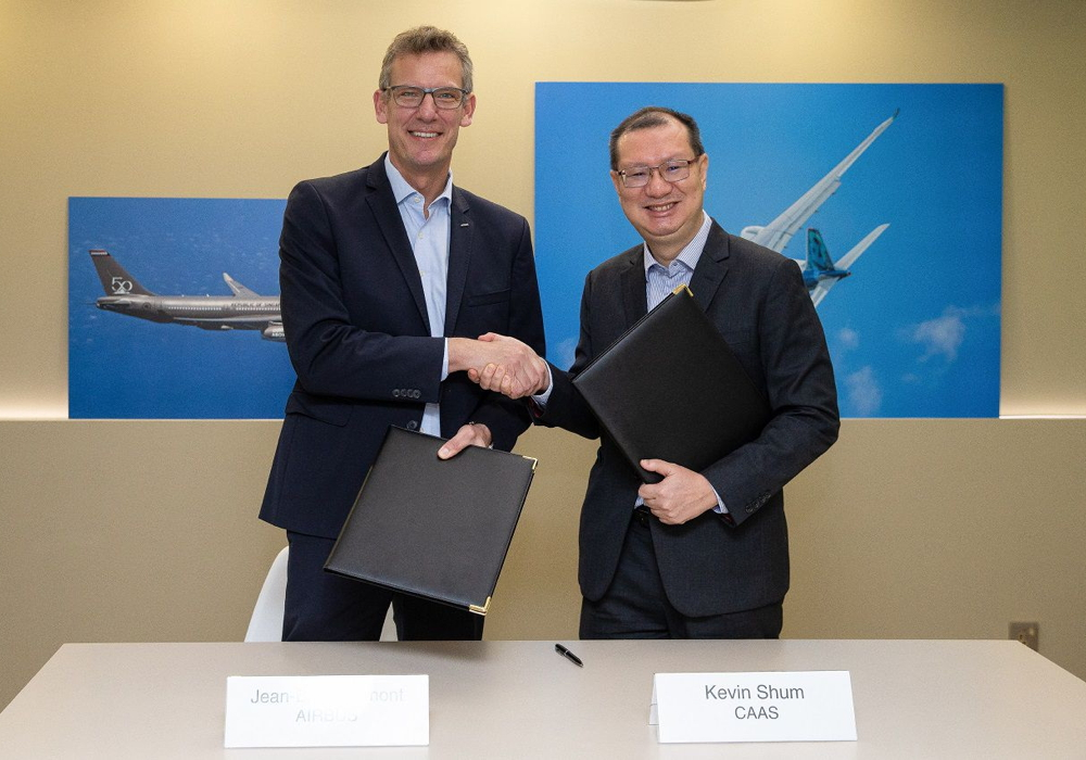 Airbus Singapore CAAS UAM agreement