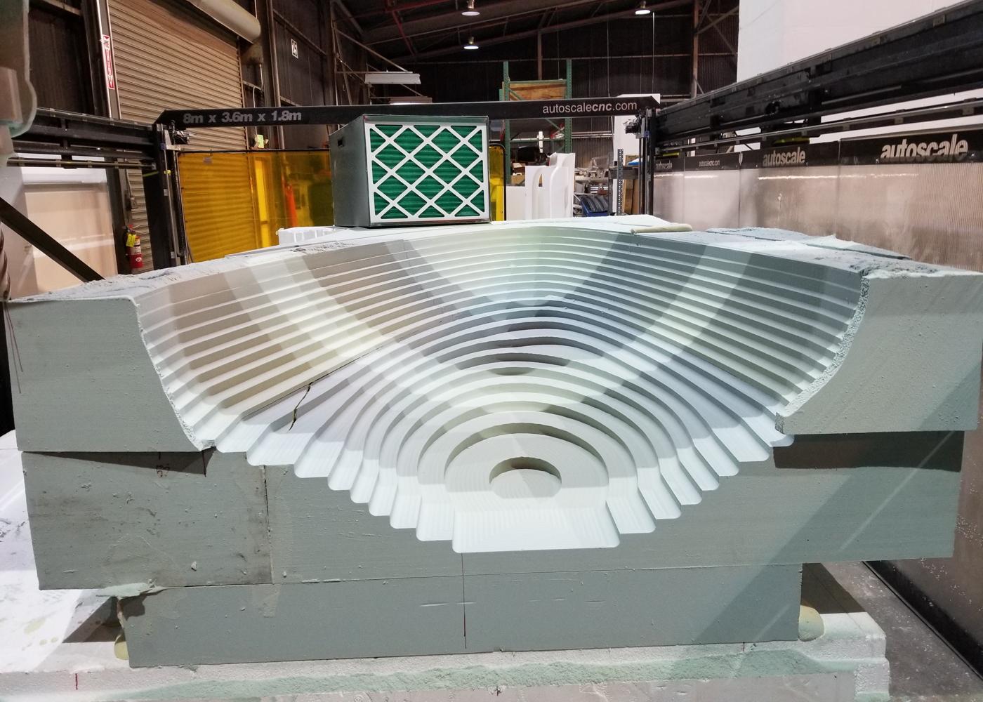 Autoscale CNC mold