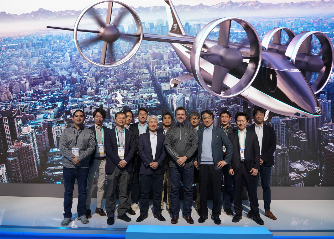 Bell, Sumitomo and Japan Airlines with Nexus 4EX eVTOL air taxi