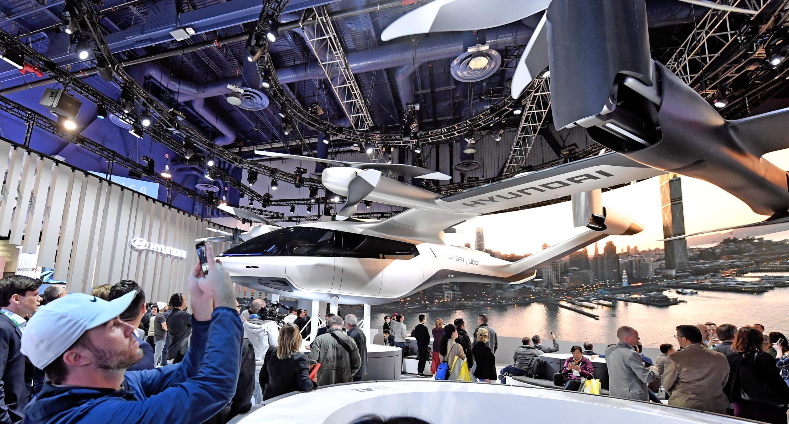 Hyundai SA-1 composites eVTOL