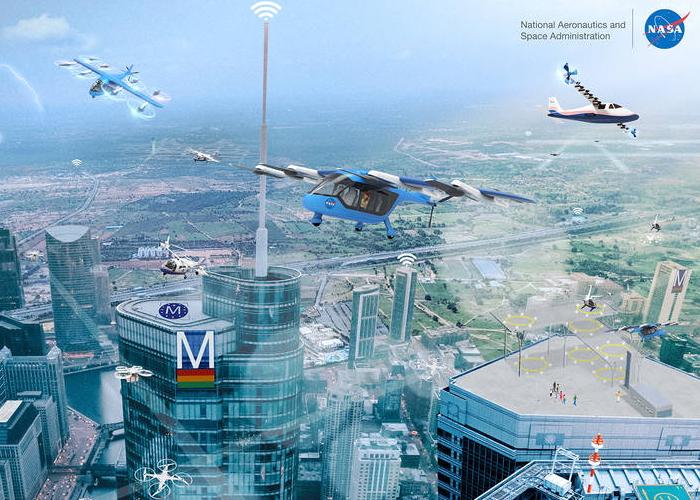 NASA urban air mobility vision