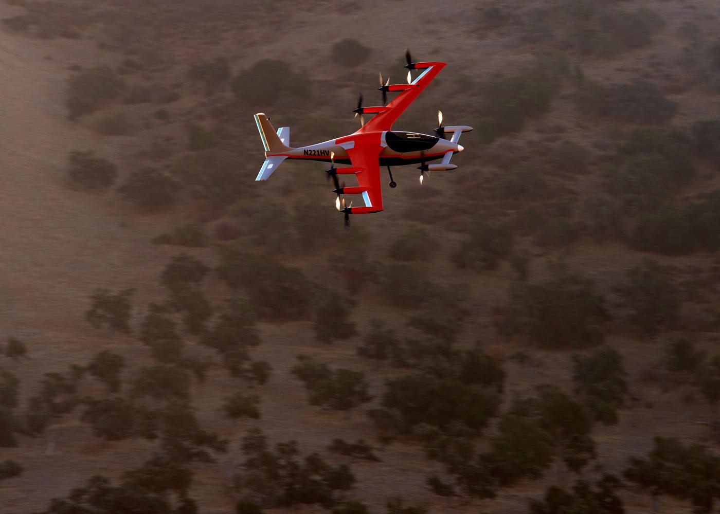 Kitty Hawk Heaviside - safety