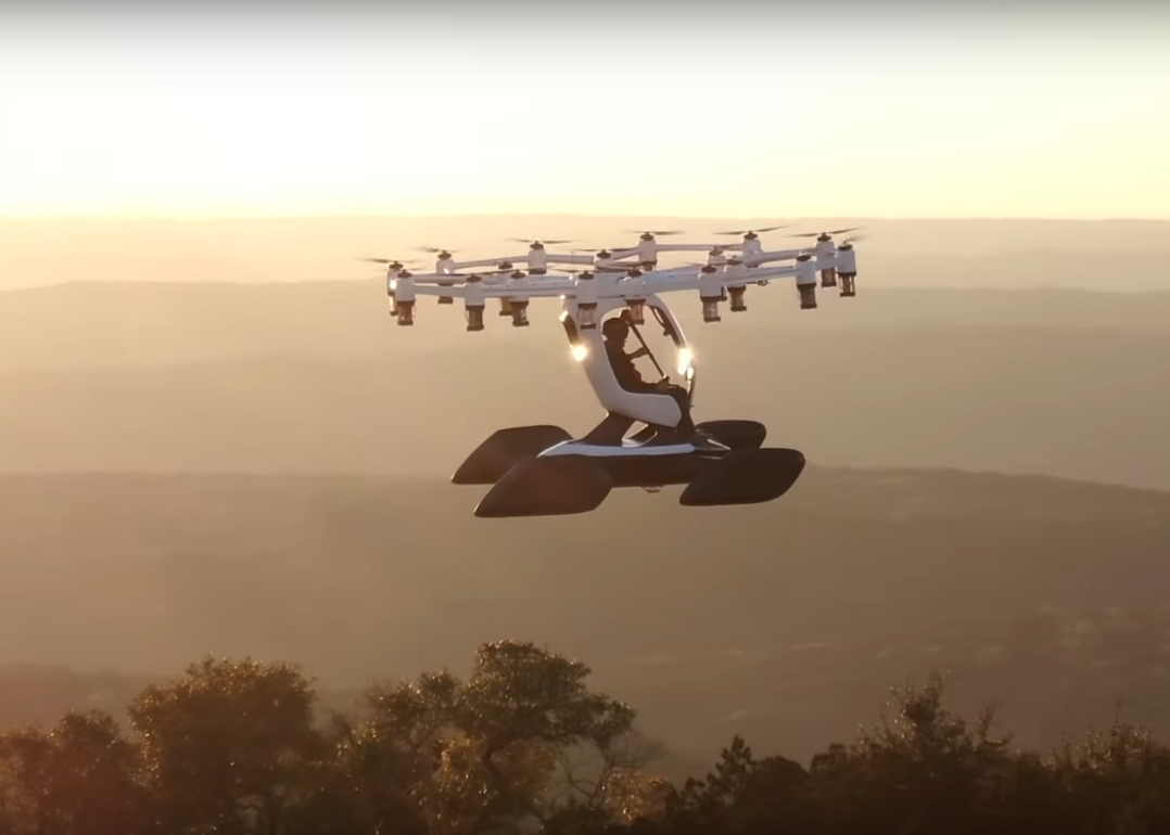 Lift Hexa eVTOL for Agility Prime