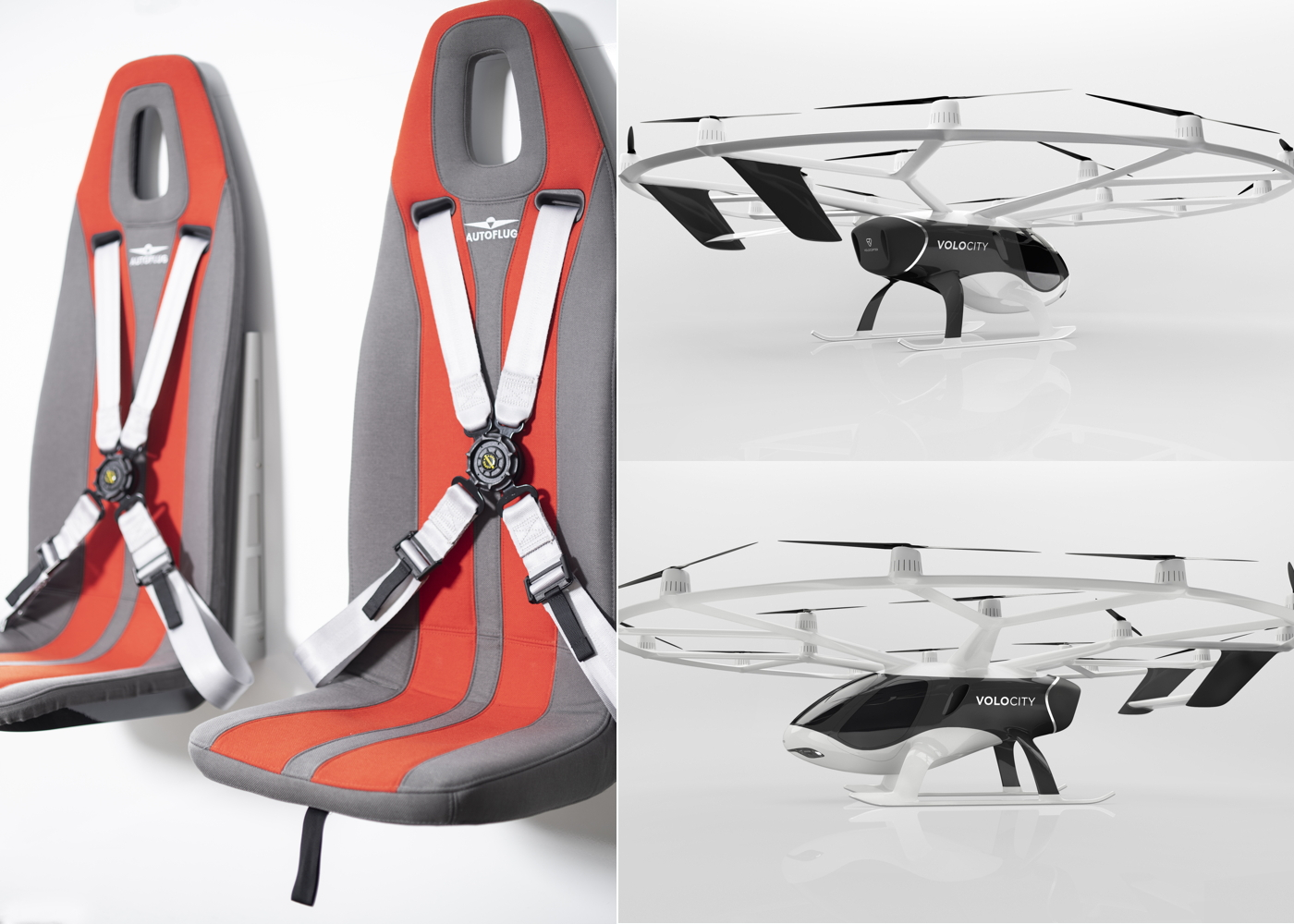 Autoflug seats with VoloCity
