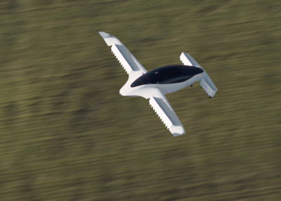 Lilium Jet in flight