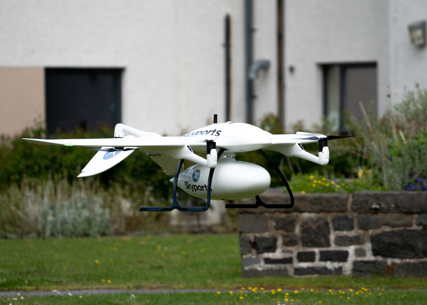 Wingcopter drone in Skyports trial