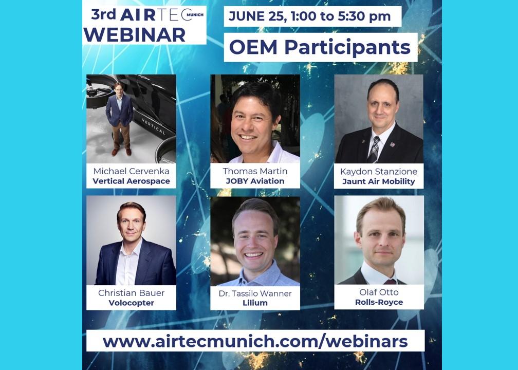 Airtec Munich eVTOL panel