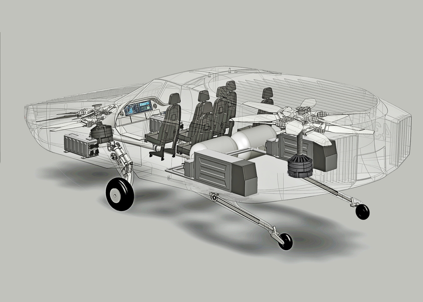 Urban Aeronautics CityHawk eVTOL